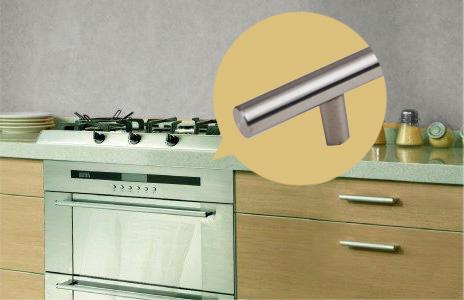 不锈钢烤箱拉手